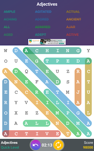 Word Search स्क्रीनशॉट 16