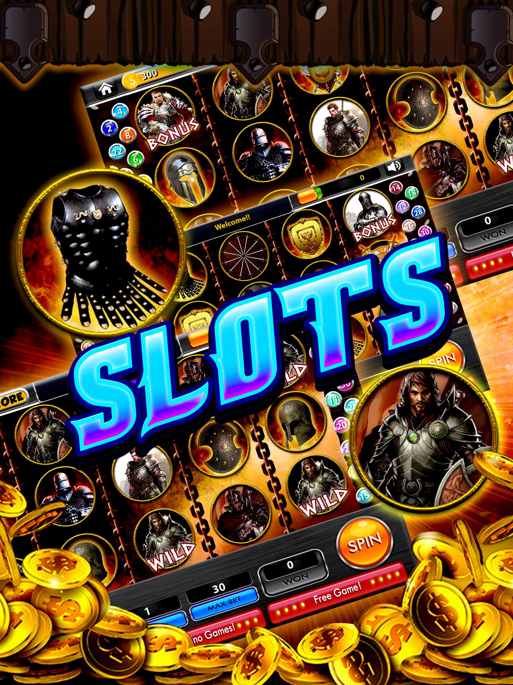 Sir Lancelot Slots – Jackpot 1 تصوير الشاشة