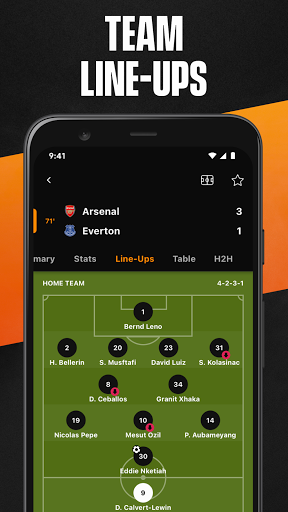 LiveScore: Live Sports Scores screenshot 3