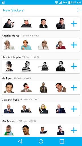 New Stickers For WhatsApp - WAStickerapps Free screenshot 4