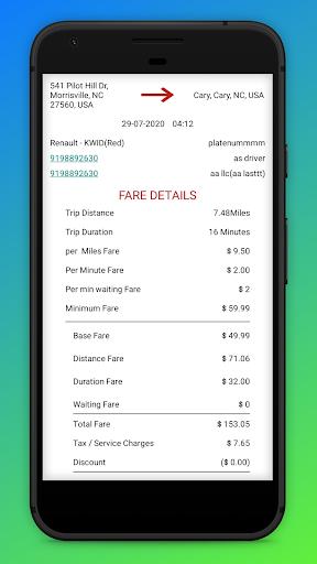 Ria Cab - Customer screenshot 5