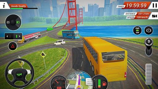 محاكاة سباق حافلات الركاب 2020: ألعاب حافلة جديدة 3 تصوير الشاشة