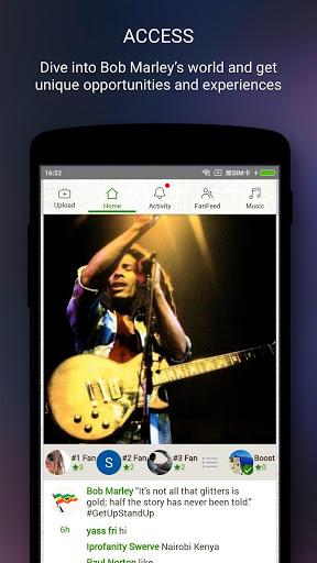 Bob Marley Official Music 2 تصوير الشاشة
