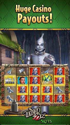 Wizard of OZ Free Slots Casino Games 1 تصوير الشاشة