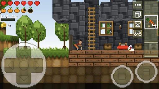 LostMiner: Block Building & Craft Game 6 تصوير الشاشة