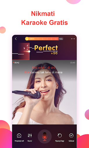 Karaoke Nyanyikan & Rekam musik - WeSing Menyanyi screenshot 1