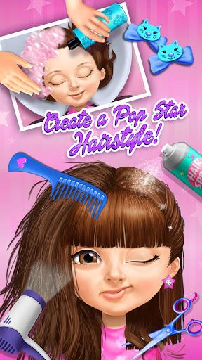 Sweet Baby Girl Pop Stars - Superstar Salon & Show 1 تصوير الشاشة