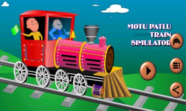 Motu Patlu Train Simulator screenshot 1