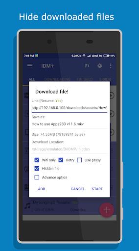 IDM Lite: Music, Video, Torrent Downloader screenshot 16