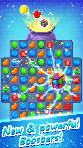 Candy Witch - Match 3 Puzzle Free Games screenshot 1