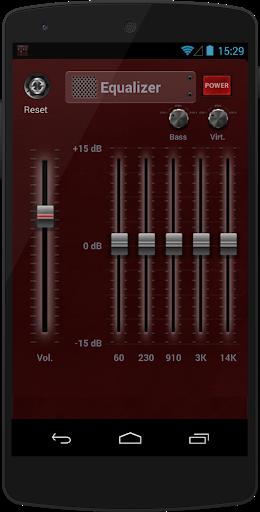 الداعم المعادل الموسيقى 2 تصوير الشاشة