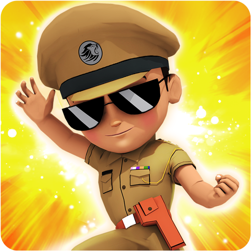 Little Singham - No 1 Runner أيقونة