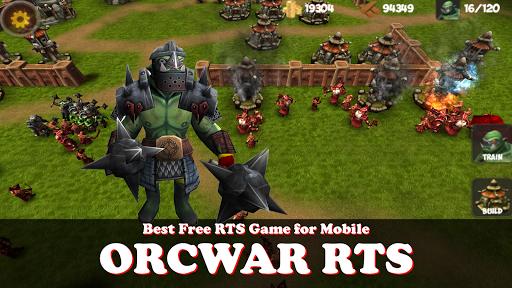 OrcWar Clash RTS screenshot 1