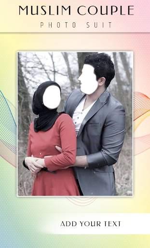 Muslim Couple Photo Suit screenshot 5