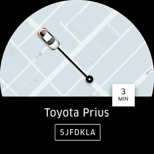 Uber - Заказ поездки скриншот 9