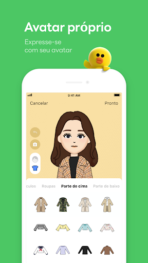 LINE:Chamadas&Mensagens Grátis screenshot 7