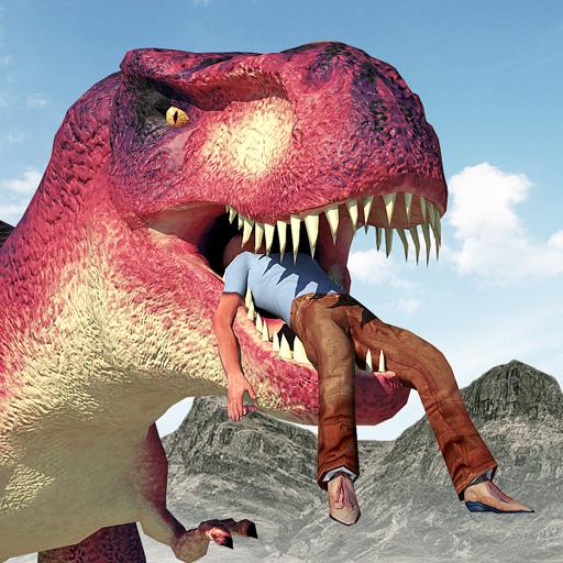 Hungry Dinosaur Hunting Simulator Game 2020 icon