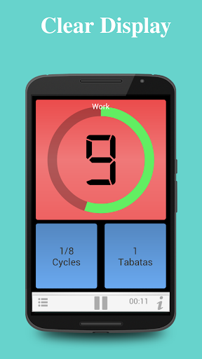 Tabata Timer for HIIT screenshot 3
