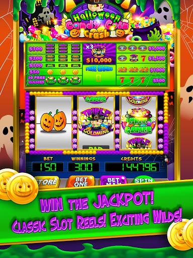 Halloween Candy Vegas Slots Mega Slot Machine FREE screenshot 2