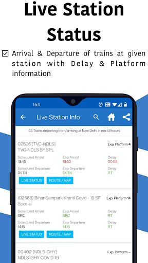 Live Train & Indian Rail Status - Locate My Train स्क्रीनशॉट 4