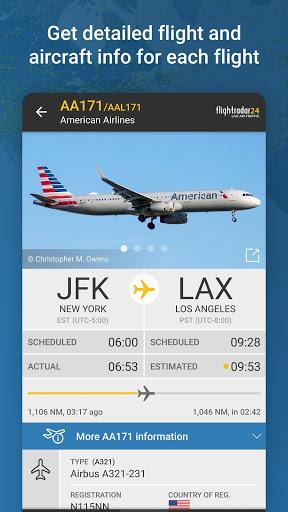 Flightradar24 Flight Tracker 3 تصوير الشاشة