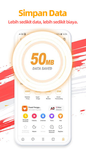 UC Browser- Video downloader, Aplikasi news bola screenshot 4