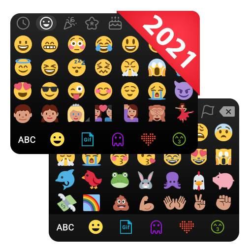❤️Emoji keyboard - Cute Emoticons, GIF, Stickers
