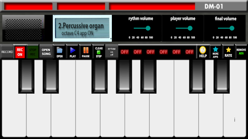 Electronic organ 2 تصوير الشاشة