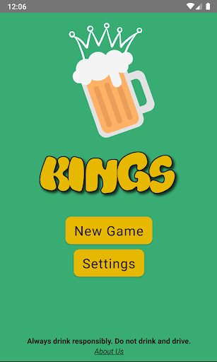 Kings Cup Drinking Game screenshot 1