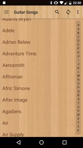 Guitar Songs screenshot 2