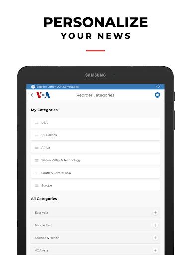 VOA News 11 تصوير الشاشة