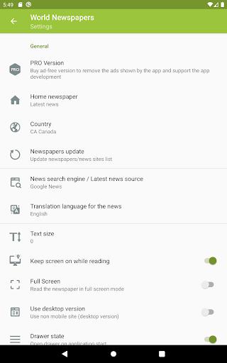 World Newspapers – Local News & International News screenshot 9