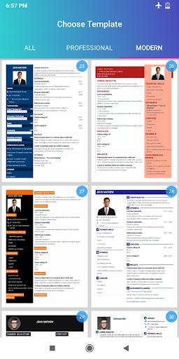 Curriculum vitae 2020 CV Currículo grátis PDF screenshot 19