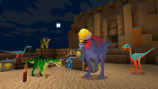 JurassicCraft: Free Block Build & Survival Craft screenshot 3