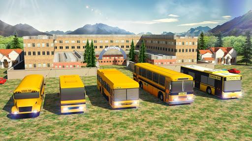 School Bus: Up Hill Driving screenshot 3