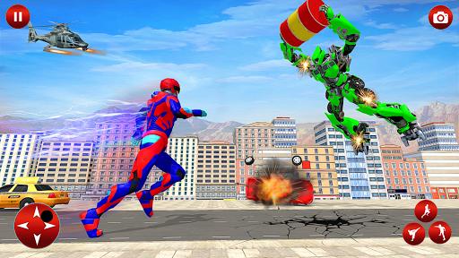 Superhero Robot Speed: Super Hero Game screenshot 4
