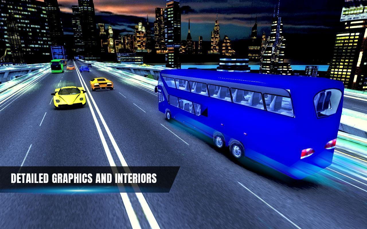 City Coach Bus Simulator 17 - Real Parking Test 3D 3 تصوير الشاشة
