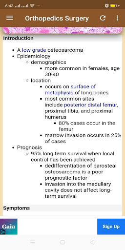 Orthopedics Surgery Handbook screenshot 5