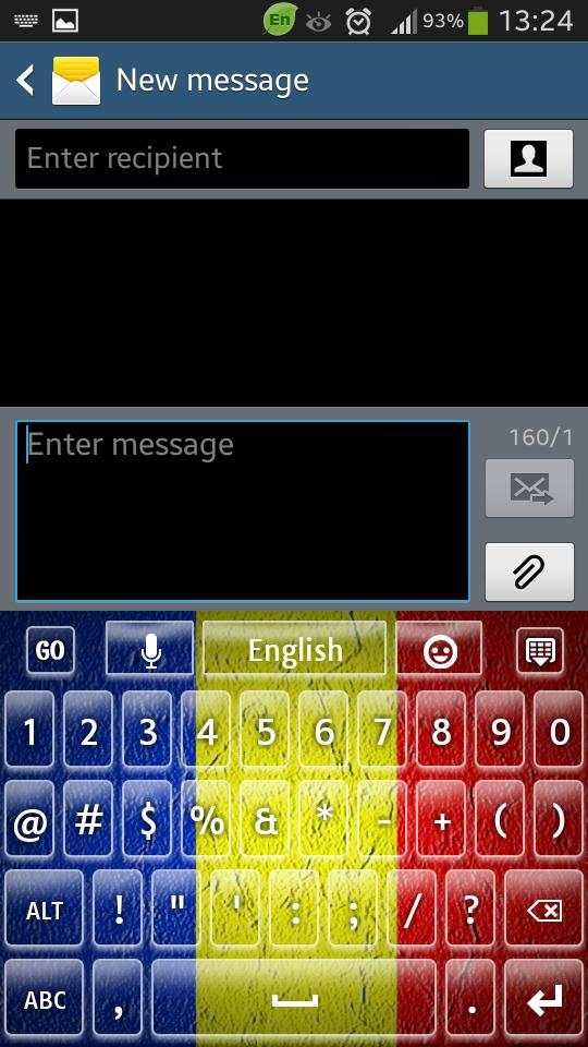 Romania Keyboard screenshot 3