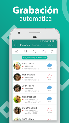 Call Recorder - Grabador de llamadas gratis screenshot 1