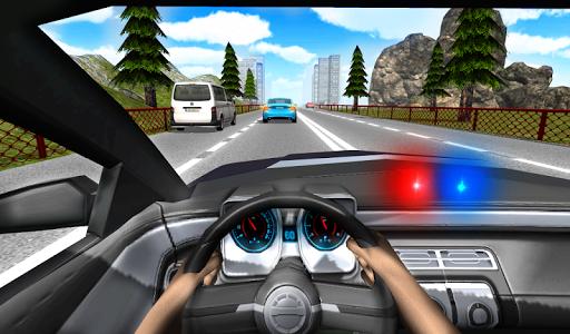 Police Driving In Car screenshot 2