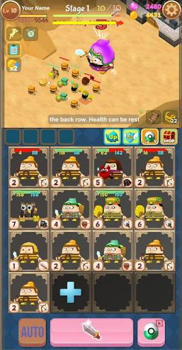 Merge Attack : Attack on Legion 7 تصوير الشاشة