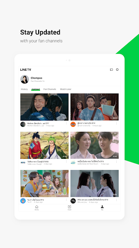 LINE TV screenshot 12