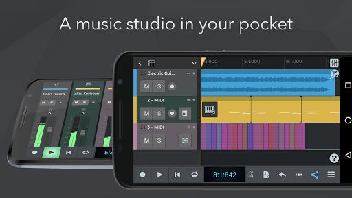 n-Track Studio DAW Beat Maker, Record Audio, Drums screenshot 1