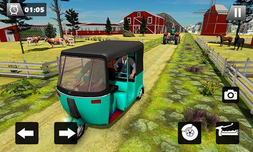 Tuk Tuk Driver Offroad Drive: Transport Passenger screenshot 5