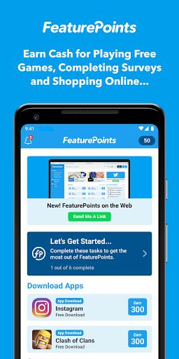 FeaturePoints: Get Rewarded screenshot 1