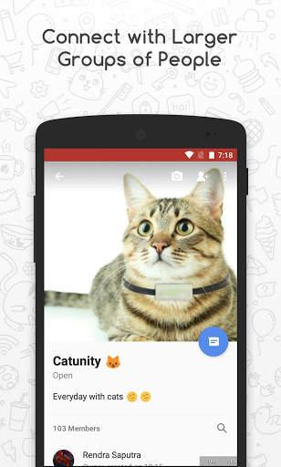 Catfiz Messenger 4 تصوير الشاشة
