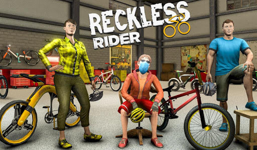 Reckless Rider- Extreme Stunts Race Free Game 2020 screenshot 4