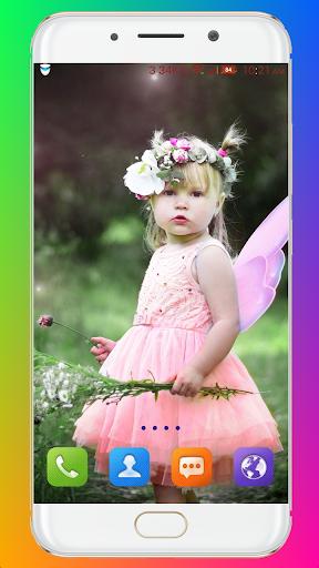 Cute Baby Wallpaper screenshot 2