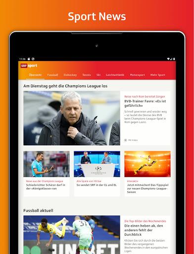 SRF Sport - News, Livestreams, Resultate screenshot 7